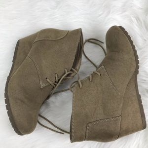Faded Glory Nude Wedges Size Women's 8